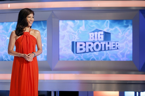 Julie Chen hosts Big Brother - source: CBS