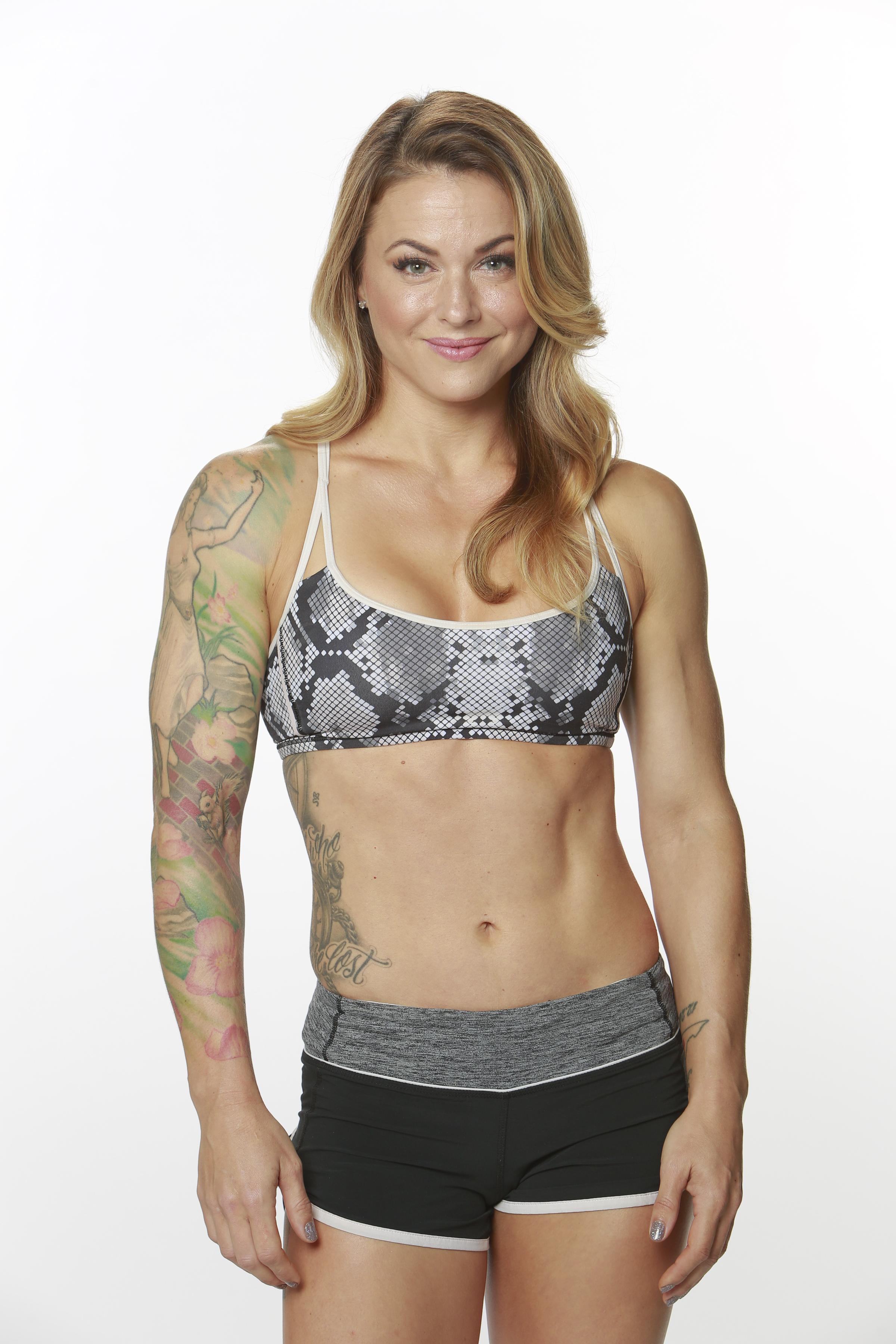 Christmas Abbott, 35, Lynchburg, Va., fitness superstar