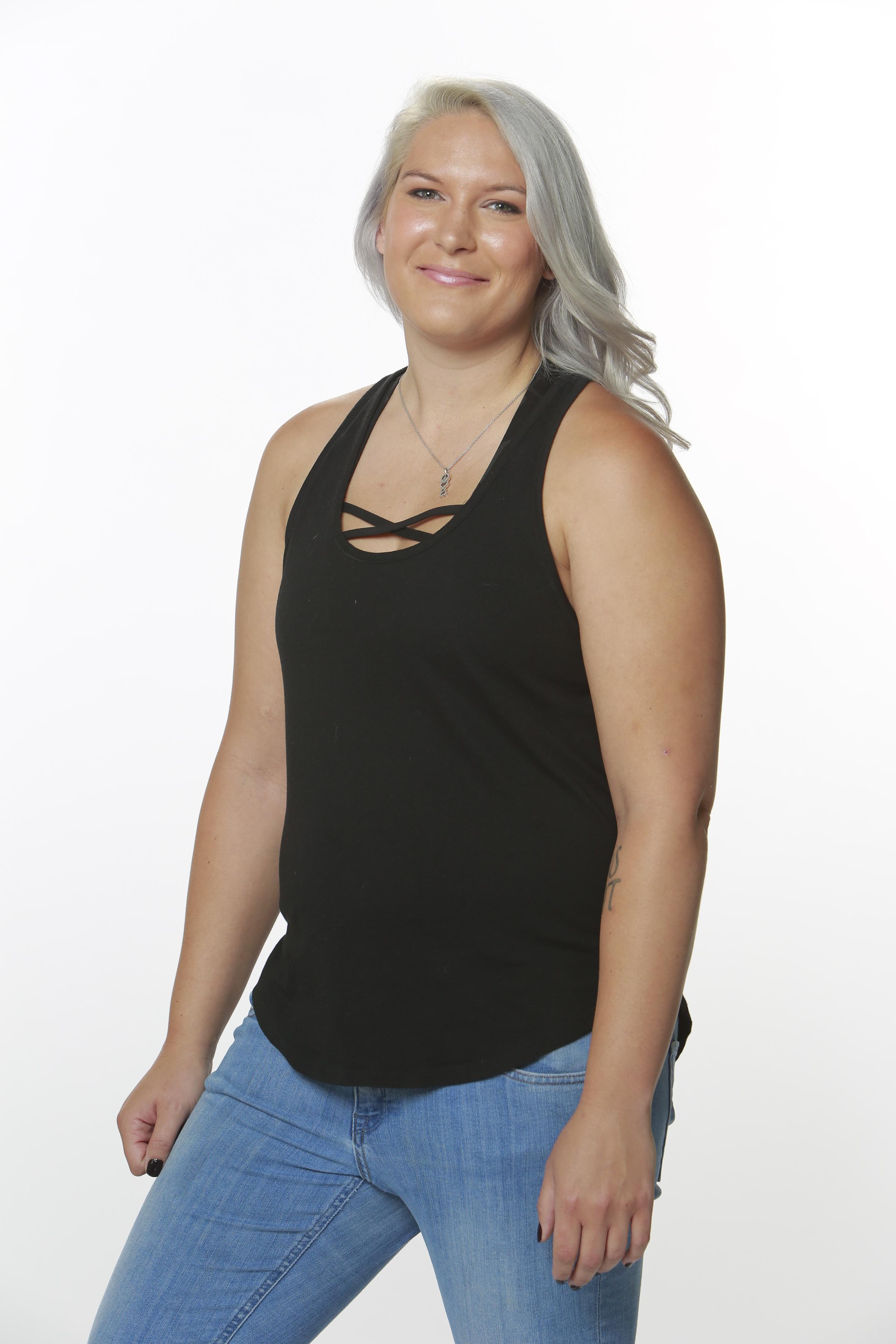 Megan Lowder, 28, Cathedral City, Calif., dog walker