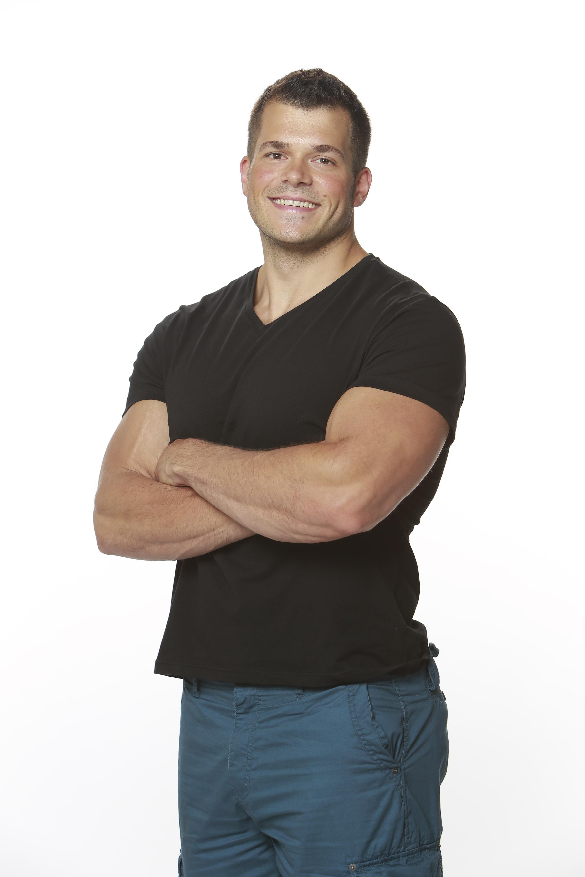 Mark Jansen, 26, Grand Island, N.Y., personal trainer